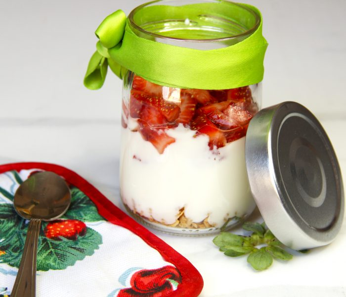 Oatmeal Yogurt Jar