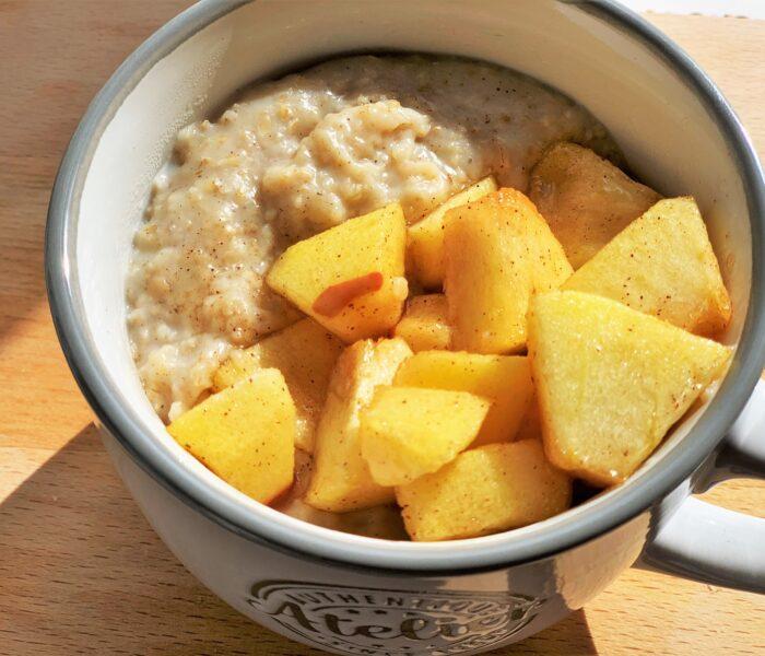 Caramelized Apple Pie Porridge